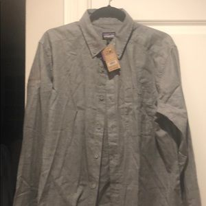 Patagonia large Pima cotton shirt never work tags